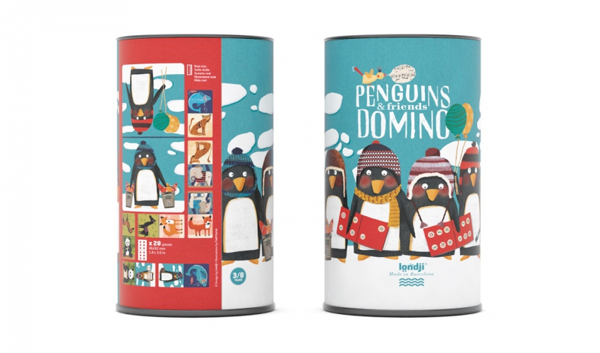Penguins & friends domino