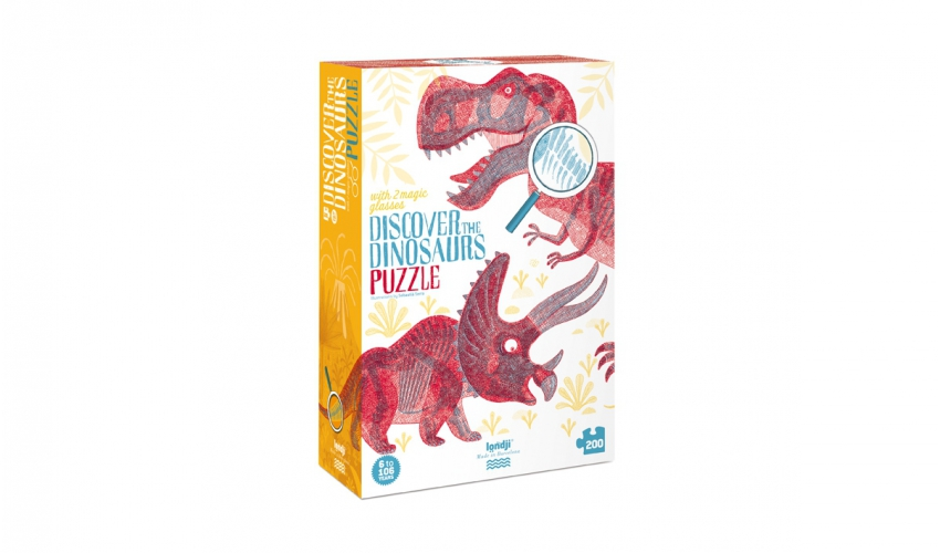 Disc. the dinosaurs puzzle