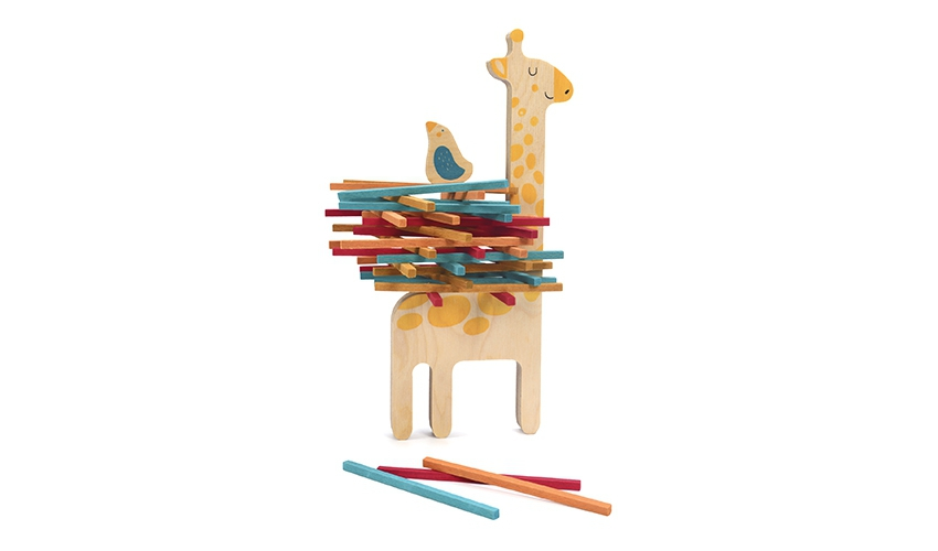 Matilda stacking game