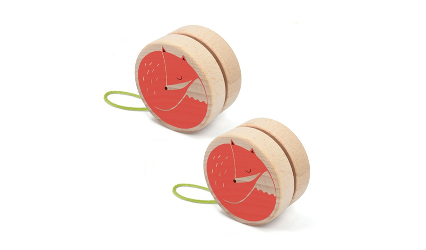 Fox yoyo (set 12)