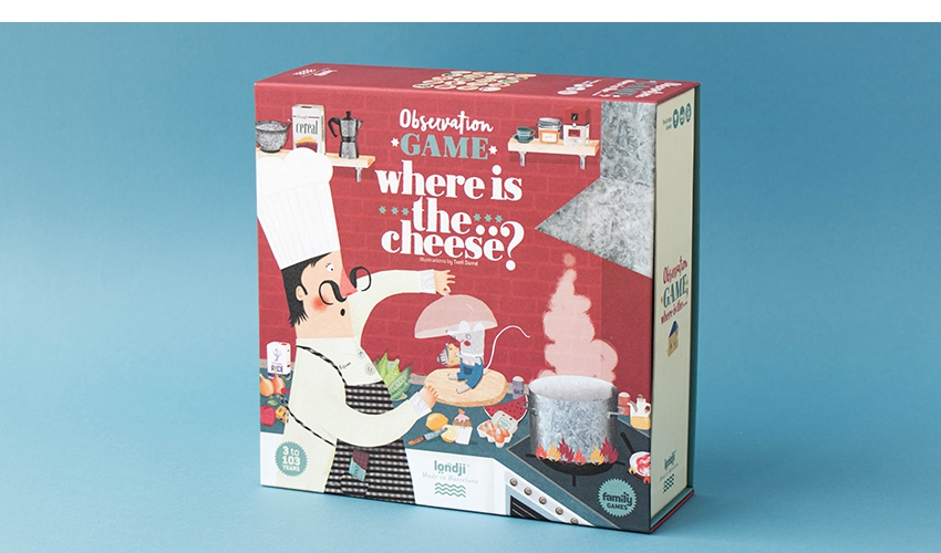 Where is the... cheese?