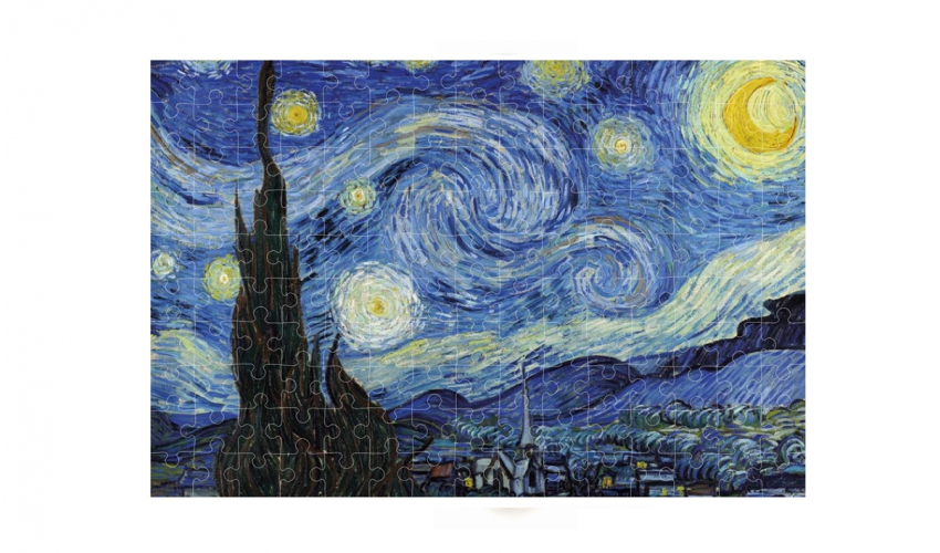 Micro puzzle Starry Night