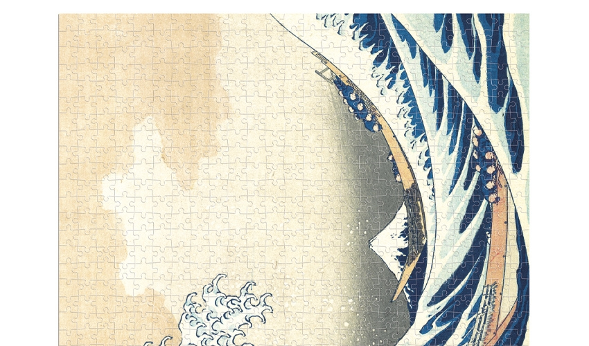 The Wave - Hokusai