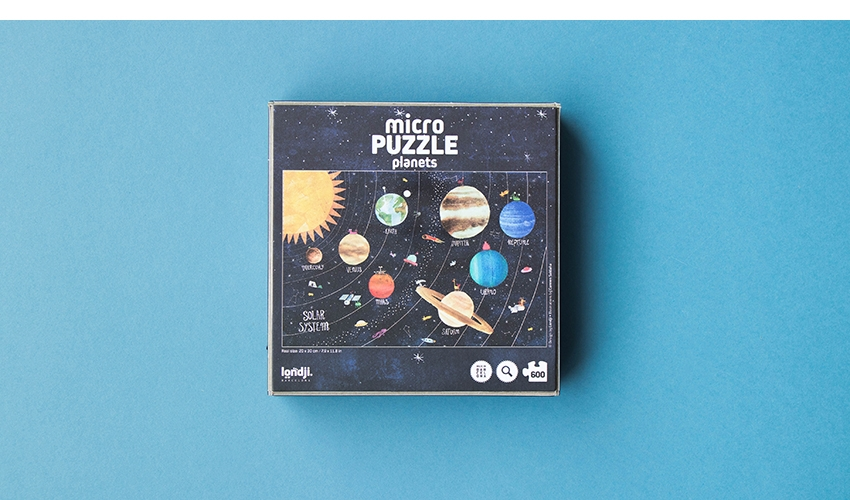 Discover the planets 600 pcs