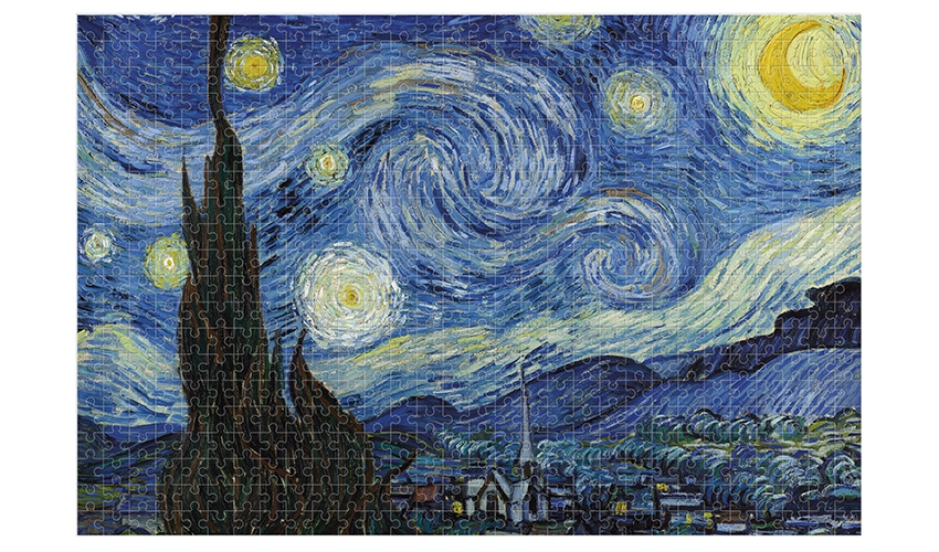 Starry Night Micropuzzle 600 pcs