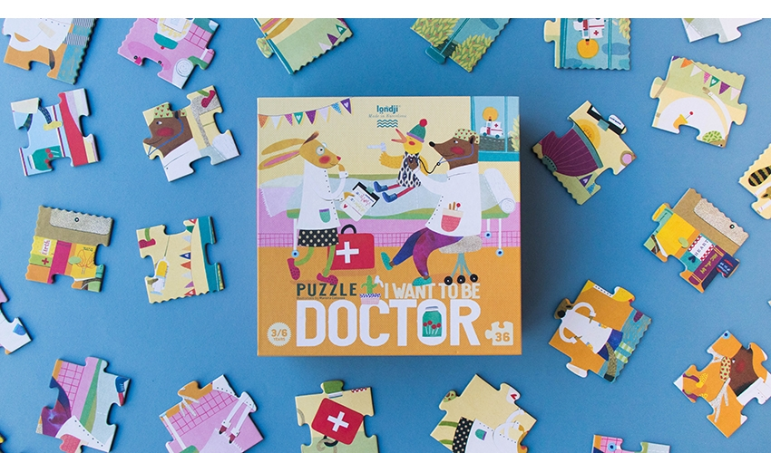 I WANT TO BE... DOCTOR PUZZLE