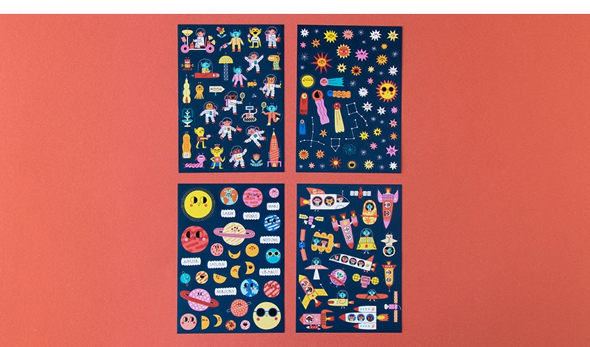 Space Stickers