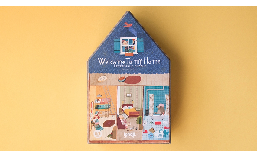 Welcome to my home puzzle by londji