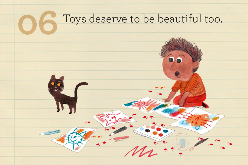 Toys deserve to feel beautiful too!